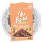 Go Raw Salad Snax - Thousand Island - Case of 6 - 1 oz.