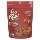 Go Raw - Organic Sprouted Flax Snax - Zesty Pizza - Case of 12 - 3 oz.
