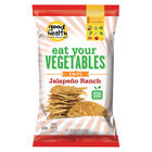 Snikiddy Snacks Eat Your Vegetables Tasty Veggie Chips - Jalapeno Ranch - Case of 12 - 4.5 oz.