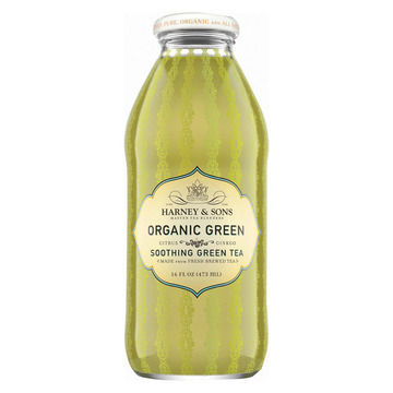 Harney and Sons Organic Green with Citrus and Ginkgo - Citrus and Ginkgo - Case of 12 - 16 oz.