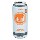 Hi Ball Sparkling Energy Water - Peach - Case of 12 - 16 Fl oz.