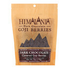 Himalania Goji Berries - Dark Chocolate - Case of 12 - 6 oz.