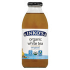 Inko's White Tea - Organic Tea - Unsweetened Original - Case of 12 - 16 Fl oz.
