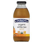Inko's White Organic White Tea - Apricot - Case of 12 - 16 Fl oz.