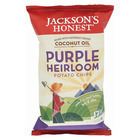 Jackson's Honest Chips Potato Chips - Purple Heirloom - Case of 12 - 5 oz.