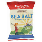 Jackson's Honest Chips Potato Chips - Sea Salt - Case of 36 - 1.2 oz.