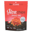Jicachips Jicama Chips - Smoked BBQ - Case of 8 - 0.9 oz.