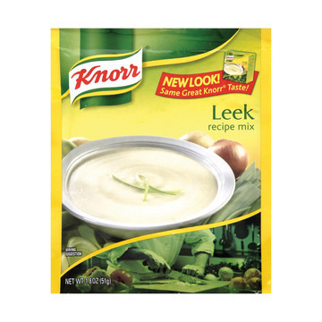 Knorr Recipe Mixes - Leek - Case of 12 - 1.8 oz.