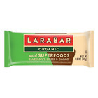 Larabar Organic with Super Foods - Hazelnut and Hemp and Cacao - Case of 15 - 1.6 oz.