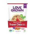 Love Grown Foods Super Oats - Nuts and Seeds - Case of 6 - 12 oz.