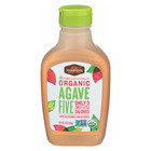Madhava Honey Organic Agave Five Nectar - Case of 6 - 16 oz.