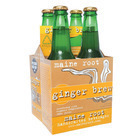 Maine Root Ginger Brew Soda - Case of 6 - 12 Fl oz.