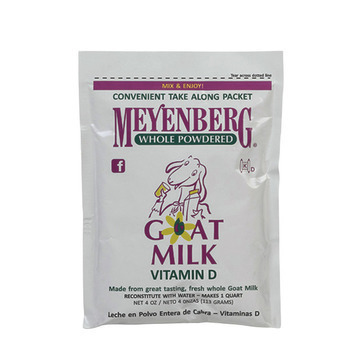 Meyenberg Whole Powdered Goat Milk - Case of 12 - 4 Fl oz.