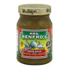 Mrs. Renfro's Green Salsa - Onion and Chili - Case of 6 - 16 oz.