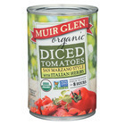 Muir Glen Diced Tomatoes, with Italian Herbs - Tomato - Case of 12 - 14.5 oz.