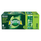 Perrier Sparkling Mineral Water - Lime - Case of 3 - 250 ml