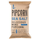 Pipcorn Mini Popcorn - Sea Salt - Case of 12 - 4 oz.