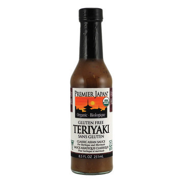 Premier Japan Organic Wheat Free Sauce - Teriyaki - Case of 12 - 8.5 Fl oz.