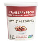 Purely Elizabeth  Ancient Grain Granola and Puffs - Cranberry Pecan - Case of 12 - 1.1 oz.