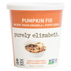 Purely Elizabeth Ancient Grain Granola and Puffs Cereal Cup - Pumpkin Fig - Case of 12 - 1.1 oz.