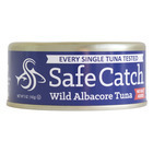 Safe Catch Tuna Wild Albacore Tuna - No Salt Added - Case of 12 - 5 oz.