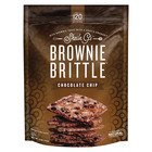 Sheila G's Brownie Brittle - Chocolate Chip - Case of 12 - 5 oz.
