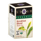 Stash Tea Organic Breakfast Blend Black Tea - Case of 6 - 18 Bags
