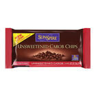 Sunspire Foods Unsweetened Carob Chips - Case of 12 - 10 oz.