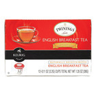 Twining's Tea Black Tea - English Breakfast - Case of 6 - 12 Count