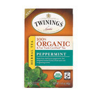 Twinings Tea - 100 Percent Organic - Herbal - Peppermint - 20 Bags - Case of 6