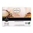 Twining's Tea Chai - Latte - Case of 6 - 12 Count