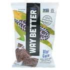 Way Better Snacks Tortilla Chips - Blue Corn - Case of 12 - 5.5 oz.