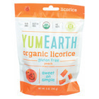 Yumearth Organics Soft Eating - Peach Licorice - Case of 12 - 5 oz.