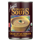 Amy's - Organic Cream of Mushroom Soup - Case of 12 - 14.1 oz
