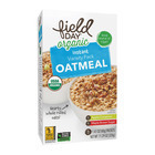 Field Day Organic Instant Oatmeal - Variety Pack - Case of 6 - 11.29 oz.