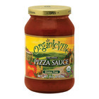 Organic Ville Organic Pizza - Sauce - Case of 12 - 15.5 Fl oz.