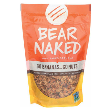 Bear Naked Granola - Go Bananas Go Nuts - Case of 6 - 12 oz.