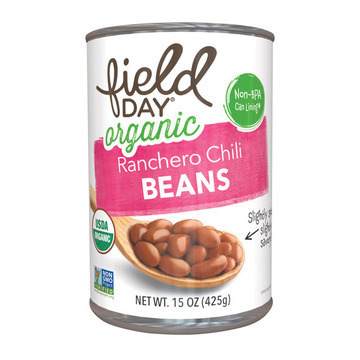 Field Day Organic Ranchero Chili Beans - Chili Beans - Case of 12 - 15 oz.