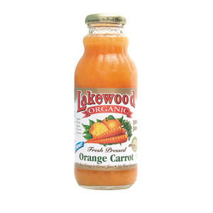 Lakewood Pure Orange and Carrot Juice - Orange and Carrot - Case of 12 - 12.5 Fl oz.