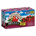 Apple and Eve 100 Percent Juice - Cranberry Raspberry - Case of 5 - 200 ml