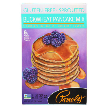 Pamela's Products Pancake Mix - Buckwheat - Case of 6 - 12 oz.