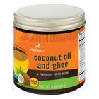 Kelapo Coconut Oil and Ghee 50/50 Blend Amber Glass Jar - Case of 6 - 13 oz.