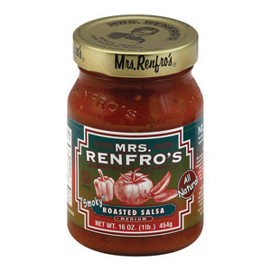 Mrs. Renfro's Fine Foods Salsa, Roasted - Case of 6 - 16 oz.