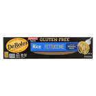 Deboles Rice Fettuccini Pasta - Case of 12 - 8 oz.