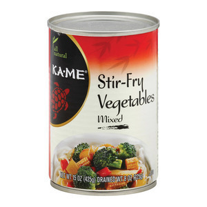 Ka'Me Stir - fry Vegetables - Mixed - Case of 12 - 15 oz.