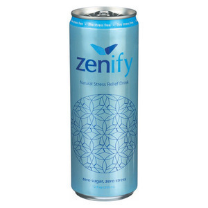 Zenify Stress Relief - Zero Sugar - Case of 12 - 12 Fl oz.