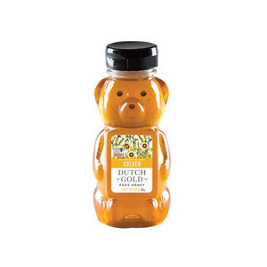 Dutch Gold Honey Golden Honey Bear - Case of 12 - 12 oz.