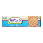 Miltons Gourmet Baked Crackers - Everything - Case of 12 - 8.3 oz.