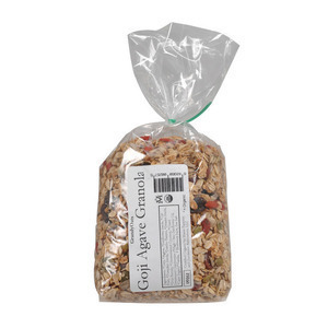 Grandy Oats Agave Granola - Goji - Case of 25 - 1 lb.