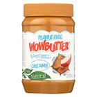 WOWBUTTER Creamy Peanut Free Spread - Case of 6 - 17.6 oz.